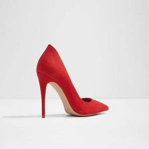 Aldo Shoes - Red Aldo Heels